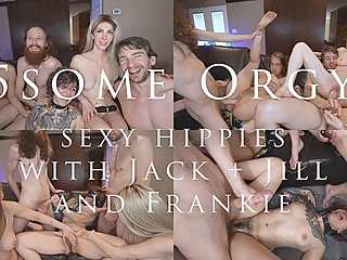 5some Orgy with Jack+Jill & Frankie