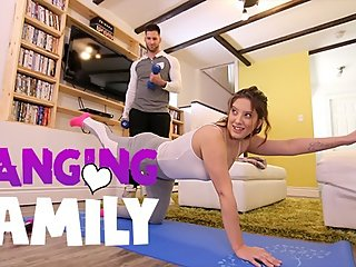 Banging Family - Seducing my Step-Bro at Yoga Class