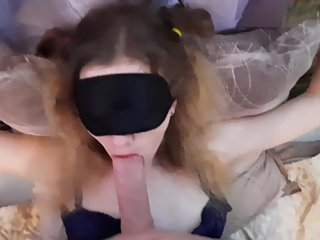 VERY YOUNG GIRL-TIED UP, FUCKED AND CUM IN HER MOUTH