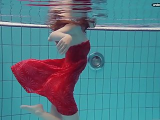 Libuse underwater slut naked body