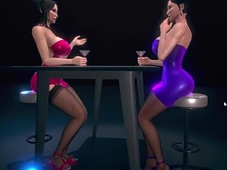 The Twist Xtreme story 3D Danielle and Michelle the club 2