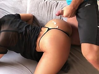 Fabianna is the hottest amateur big ass TEEN doggystyle compilation