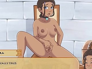 Four Element Trainer [v.0.8.4c] Part 5 Katara Masturbation By LoveSkySan69