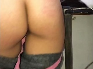 I Fucked My Hot Roommate Student, SheТs Washing The Dishes!! Mexican Teen!