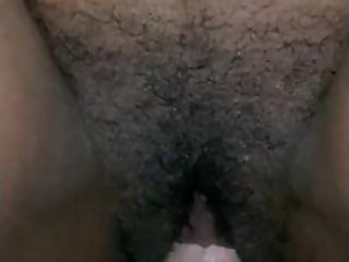 Close Up Of College Ebony Riding Sugardaddys White Dick