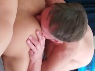 Old married guy paid to eat my ass