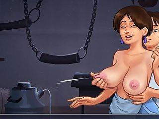 SummertimeSaga NEIGHBOUR BREASTFEED- (Diane's route)PART 94