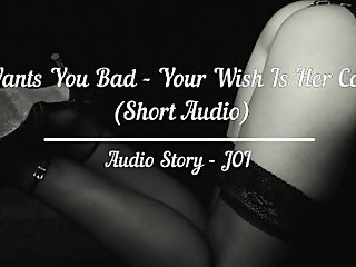 Teen Wants You Bad, Your Wish Is Her Command - Audio Joi (Short)