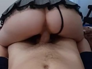 Amazing POV! College Pawg rides him until he cums - 4You2Cum