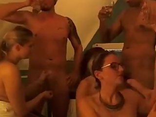 German Teen Orgy