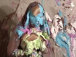 Messy pie and slime sluts VOL 2 Sexy gils bound and humiliated