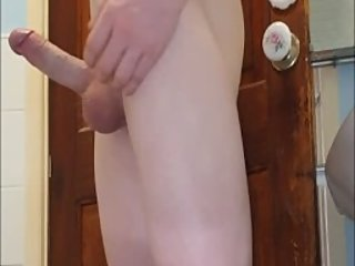 SMOOTH HOT 18YEAR OLD TWINK JERKS OFF AND SHOWS OFF HIS ASS IN THE BATHROOM