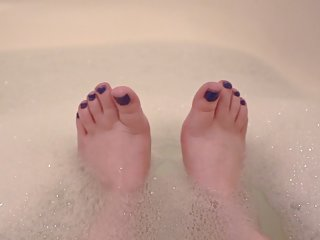 Soapy Webbed Toes and Wrinkled Soles