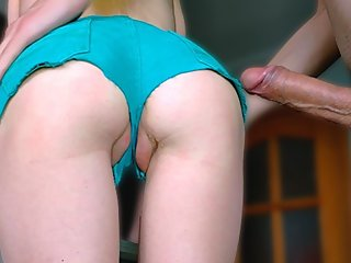 Petite Girl In Denim Shorts Gets A Big Dick In A Tight Ass - Amateur 4K