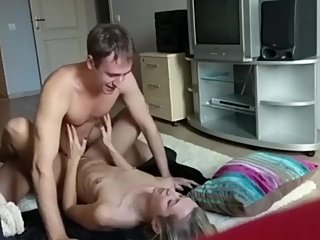 Sexy stepsis gets hard fucked by her stepbrother with very big cock