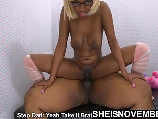 Front View Big Dick Anal Ride, Young Ebony Teen Ride Step Father Older BBC