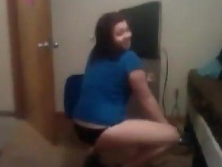 Twerking Alyssa michele