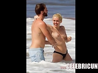 Loony Celeb Miley Cyrus Fully Naked