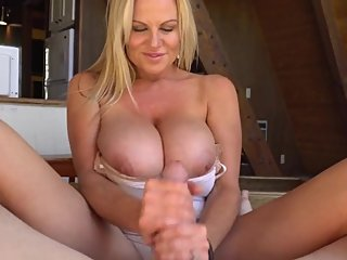 Insatiable 50-year-old MILF Kelly Madison loves to seduce students