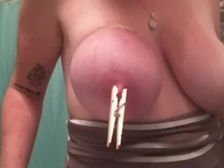 big tits step sister home from college plays with juicy boobs