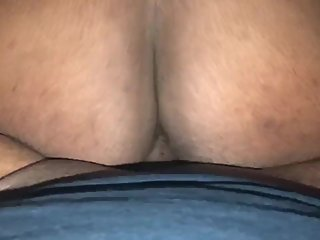 Big Booty Teen Running from Dick