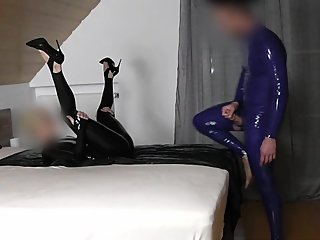 KINKY LATEX COUPLE PART 8: FUCK THE GODDESS